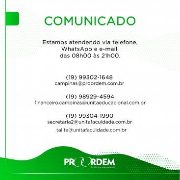 Proordem e ESD Campanha 20.1
